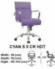 Kursi Direktur & Manager Indachi Cyan S II CR HDT