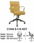 Kursi Direktur & Manager Indachi Cyan S II N HDT