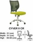 Kursi Direktur & Manager Indachi Cyver II CR