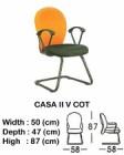 Kursi Hadap Indachi Type Casa II V COT