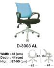 Kursi Staff & Sekretaris Indachi D-3003 AL