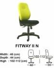 Kursi Staff & Sekretaris Indachi Fitway II N