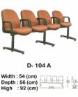 Kursi Tunggu Indachi Type D-104 A