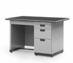 Single Pedestal Desk Alba Type SP-401-L (? Biro)