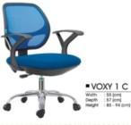 Kursi Kantor Decco VOXY 1 C BLACK